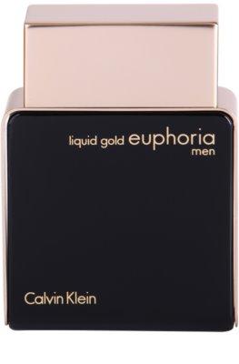 Calvin Klein Euphoria Liquid Gold woda perfumowana dla mężczyzn 2