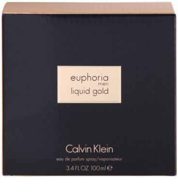 Calvin Klein Euphoria Liquid Gold woda perfumowana dla mężczyzn 4