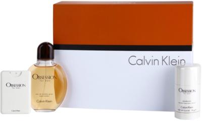 Calvin Klein Obsession for Men lote de regalo