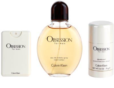 Calvin Klein Obsession for Men darilni set 1