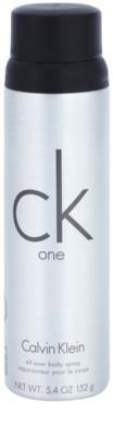 Calvin Klein CK One desodorante en spray unisex