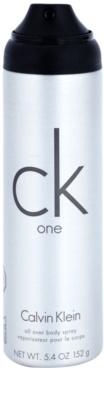 Calvin Klein CK One deo sprej uniseks 1
