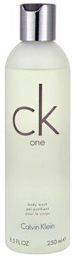 Calvin Klein CK One sprchový gél unisex  (bez krabičky)