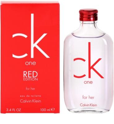 Calvin Klein CK One Red Edition woda toaletowa dla kobiet
