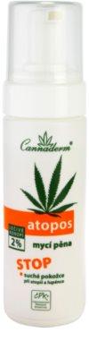 Cannaderm Atopos espuma limpiadora  para pieles secas