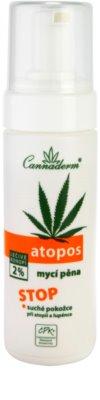 Cannaderm Atopos spuma de curatare pentru piele uscata