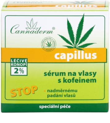 Cannaderm Capillus sérum capilar con cafeína 3