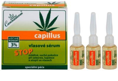 Cannaderm Capillus sérum capilar sérum de cabelo