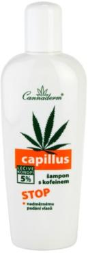 Cannaderm Capillus kofeinový šampon proti vypadávání vlasů