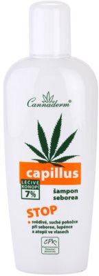 Cannaderm Capillus шампунь проти себореї