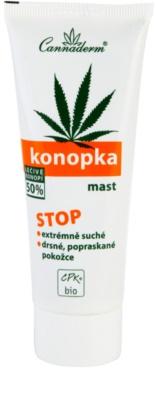 Cannaderm Konopka zsír a nagyon száraz bőrre
