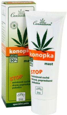 Cannaderm Konopka мехлем за много суха кожа 1