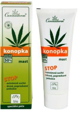 Cannaderm Konopka мехлем за много суха кожа 2