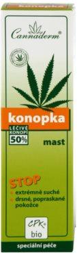 Cannaderm Konopka мехлем за много суха кожа 3