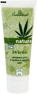 Cannaderm Natura crema para pieles secas y sensibles