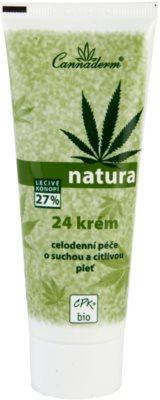 Cannaderm Natura Creme für trockene bis empfindliche Haut