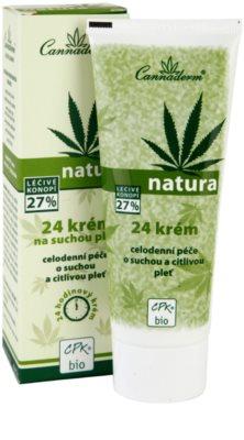 Cannaderm Natura crema para pieles secas y sensibles 1