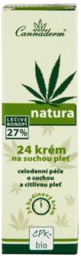 Cannaderm Natura crema para pieles secas y sensibles 3