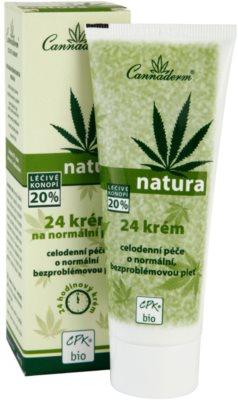 Cannaderm Natura crema pentru piele normala 1