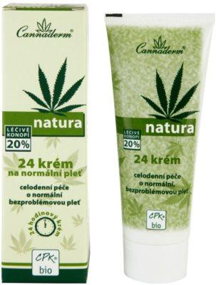 Cannaderm Natura crema pentru piele normala 2