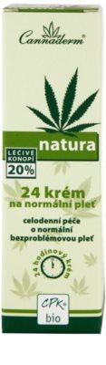 Cannaderm Natura crema pentru piele normala 3