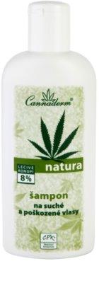 Cannaderm Natura шампунь для сухого або пошкодженого волосся