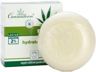 Cannaderm Natura hidratáló szappan