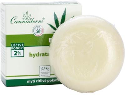 Cannaderm Natura hydratační mýdlo