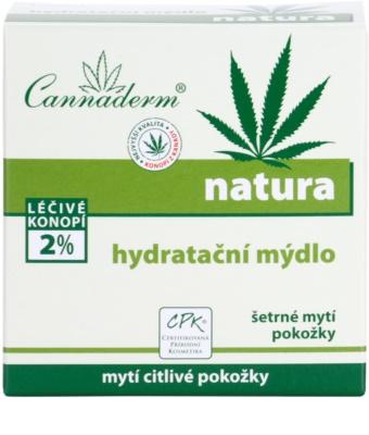 Cannaderm Natura jabón hidratante 2