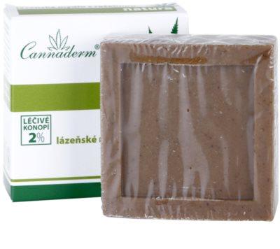 Cannaderm Natura sabonete de spa com turfa