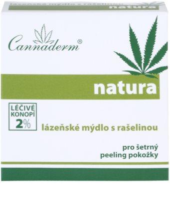 Cannaderm Natura спа мило з торфом 3