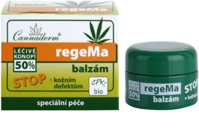 Cannaderm regeMa Universalbalsam für Lippen und Gesicht mit Hanföl 2