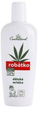 Cannaderm Robatko leite corporal de bebé