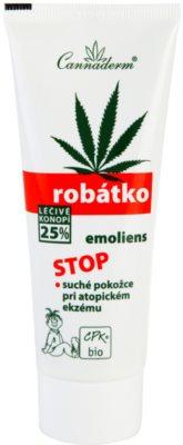 Cannaderm Robatko крем за атопичен дерматит