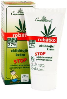 Cannaderm Robatko die beruhigende Creme 1