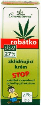 Cannaderm Robatko die beruhigende Creme 3