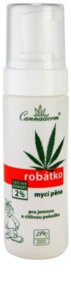 Cannaderm Robatko tisztító hab gyermekeknek