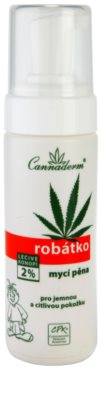 Cannaderm Robatko миеща пяна за деца