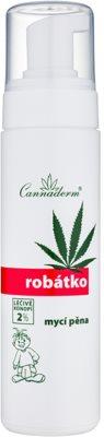 Cannaderm Robatko Reinigungsschaum für Kinder