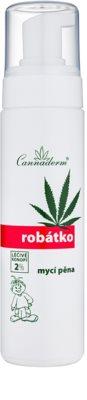 Cannaderm Robatko spuma de curatare pentru copii