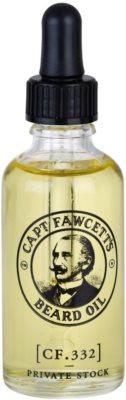 Captain Fawcett Beard Oil Bartöl