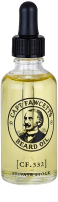 Captain Fawcett Beard Oil szakáll olaj