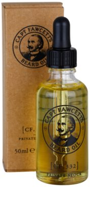 Captain Fawcett Beard Oil szakáll olaj 1