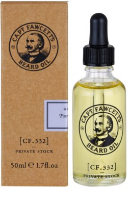 Captain Fawcett Beard Oil szakáll olaj 2