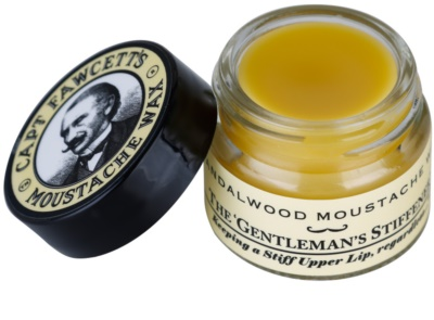 Captain Fawcett Moustache Wax cera para bigode 1