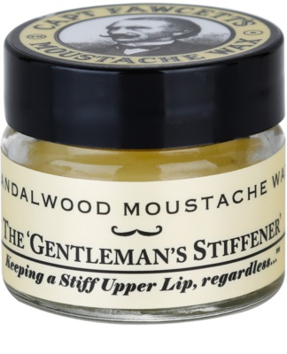 Captain Fawcett Moustache Wax cera para bigode