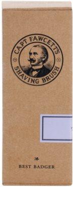 Captain Fawcett Shaving štětka na holení z jezevčí srsti 3