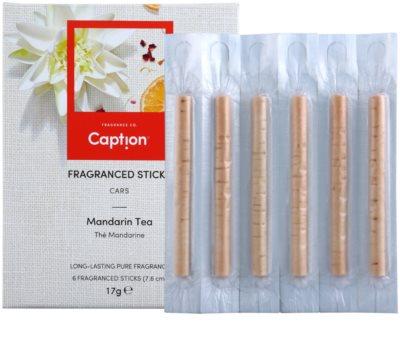 Caption Mandarin Tea paus de incenso  para o carro