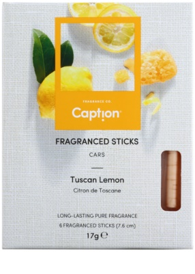 Caption Tuscan Lemon Incienso  para coche 1