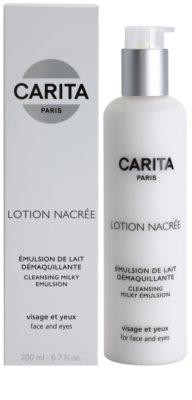 Carita Cleansing čisticí pleťová emulze na obličej a oči 1